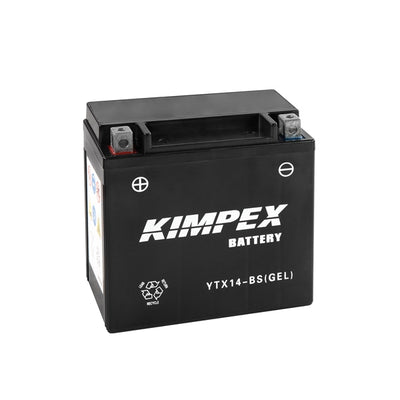 Kimpex Battery Maintenance Free AGM YTX14-BS(GEL)  Part# NULL
