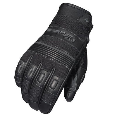Scorpion EXO Abrams Mens Motorcycle Textile/Leather Gloves - Black