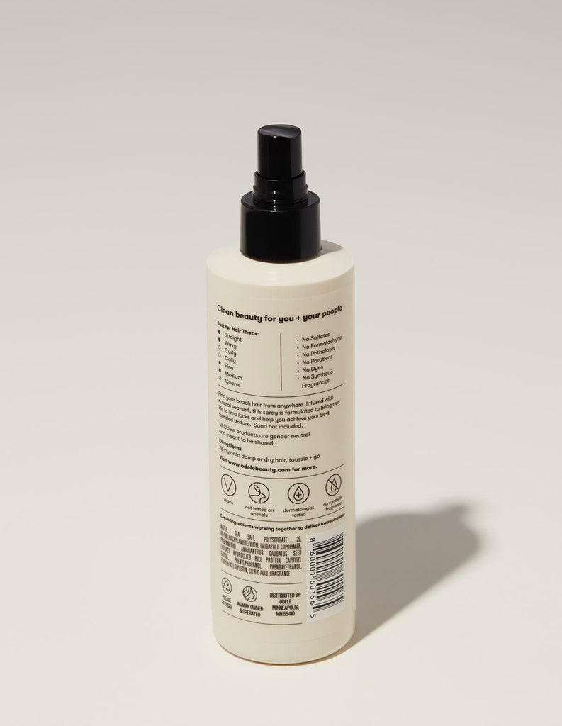 Odele Texturizing Seal Salt Spray Ingredients