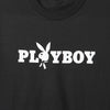 Playboy Edited Black Tee