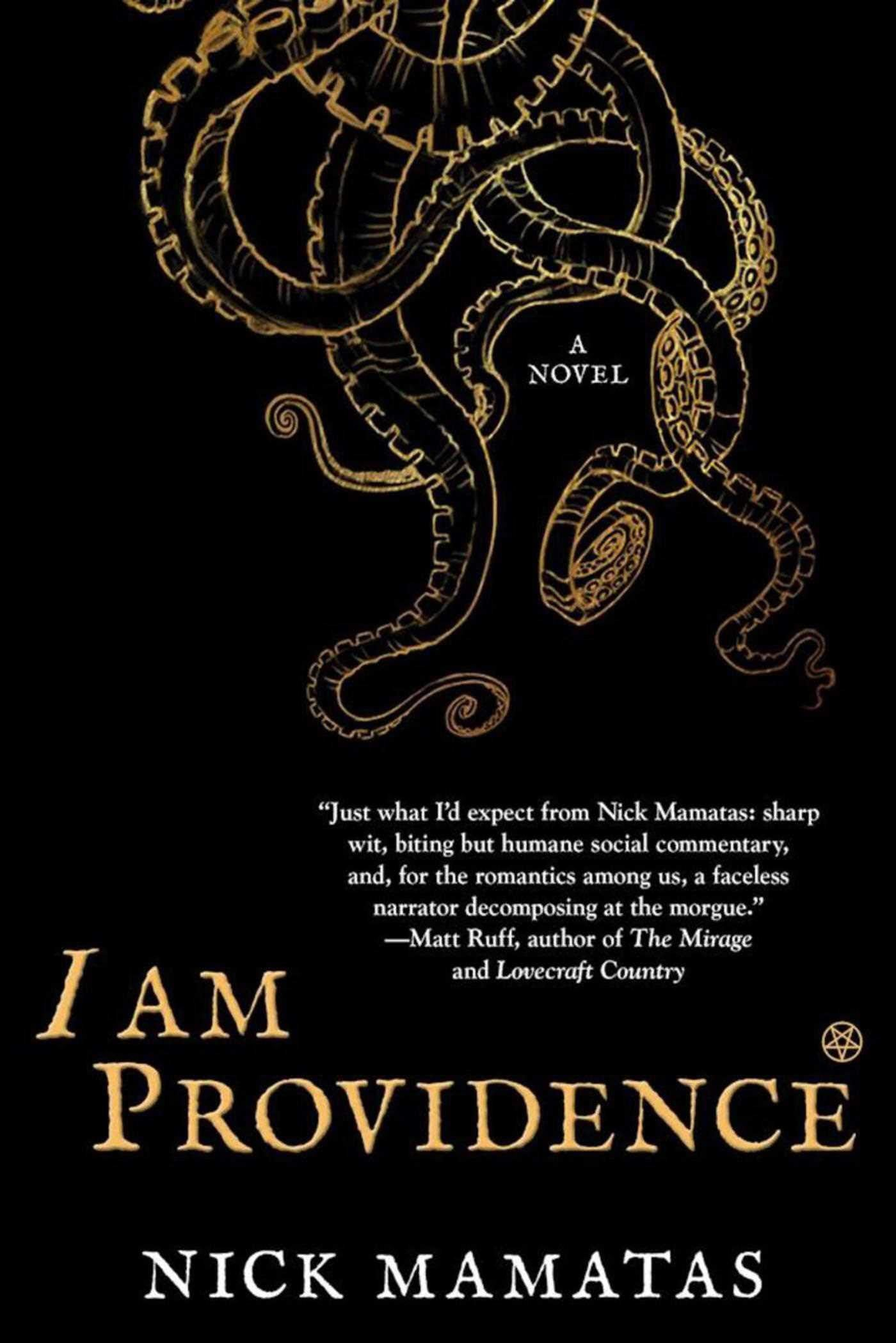 Donnie's Review of I AM PROVIDENCE by Nick Mamatas