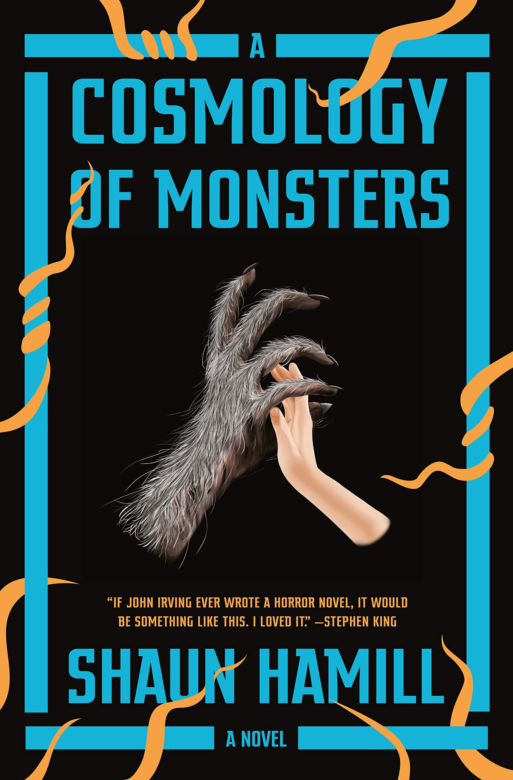 Kallie & Marcy's Side By Side Review of A COSMOLOGY OF MONSTERS by Shaun Hamill
