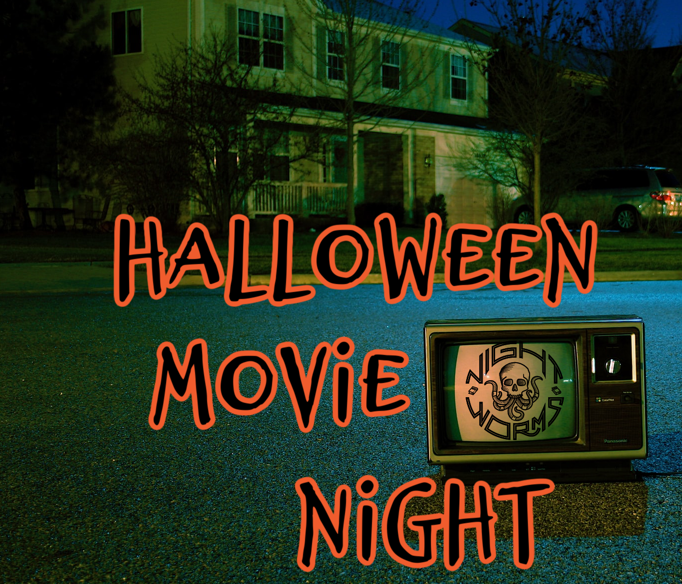 Halloween Movie Night by Kami's Korner