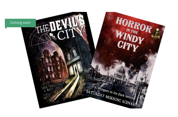 Author Spotlight-The Devil's City: Combining Horror Fiction & Gaming