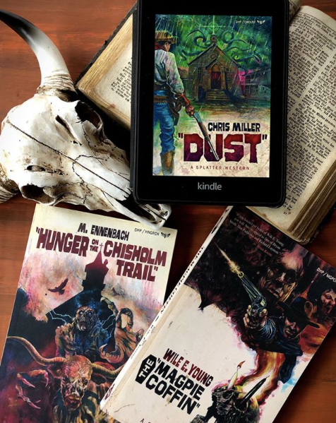 Night Worms Book Party: DUST by Chris Miller (Part 1)