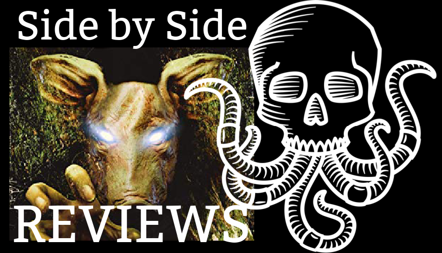 Side by Side Reviews: CURSE OF THE PIGMAN by Asher Ellis