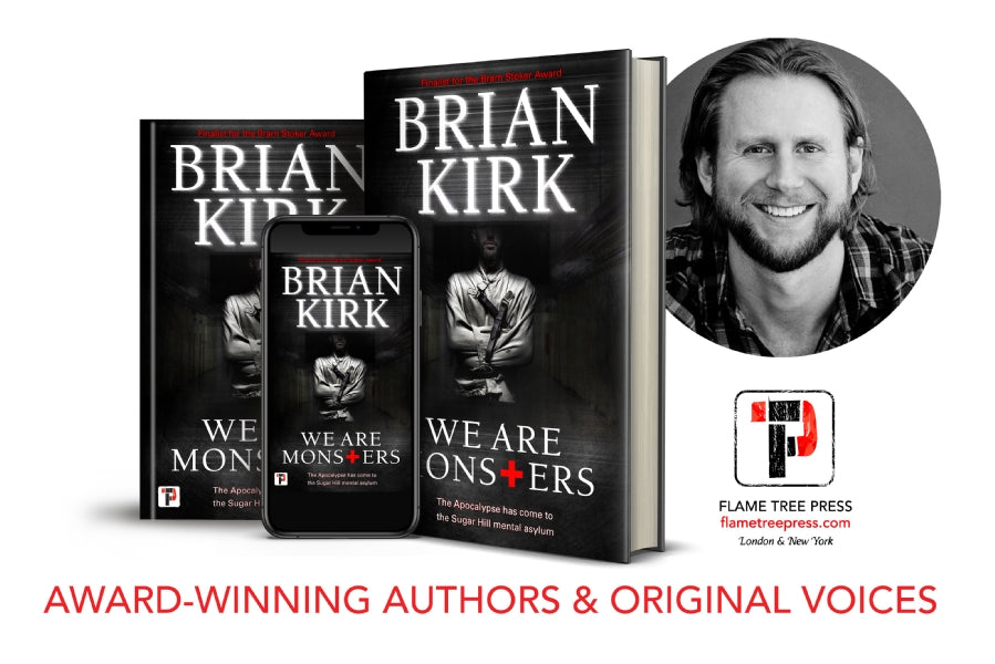 WE ARE MONSTERS by Brian Kirk. A Night Worms Book Party