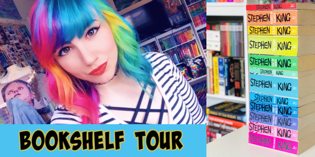 Bookshelf Tour: The Scary Side of the Rainbow by Cassie Daley