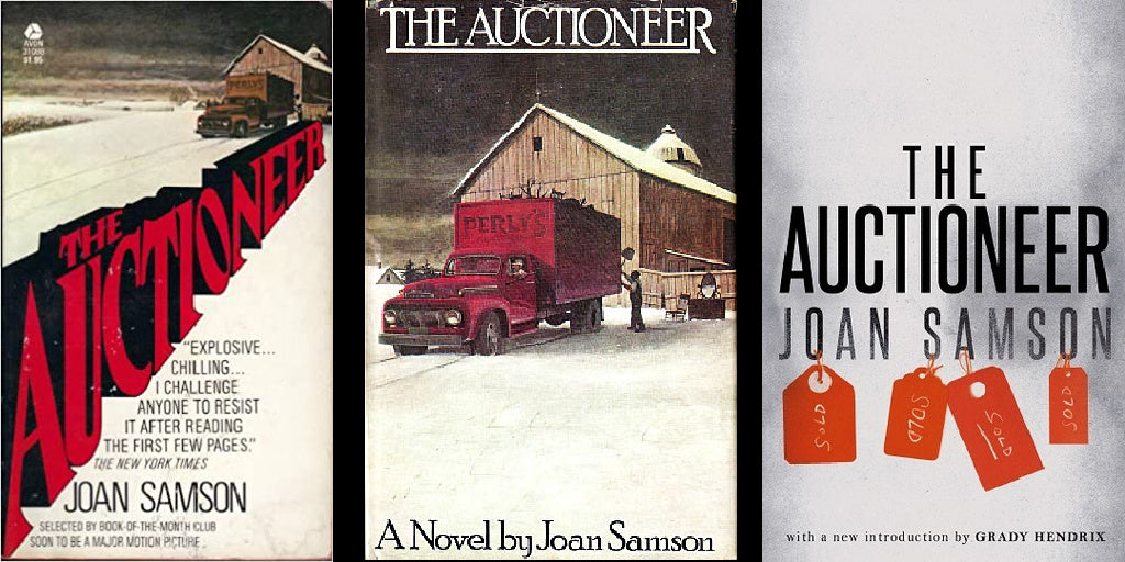 Side By Side Reviews: THE AUCTIONEER by Joan Samson