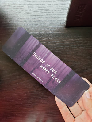 Horror is Our Happy Place bookmark