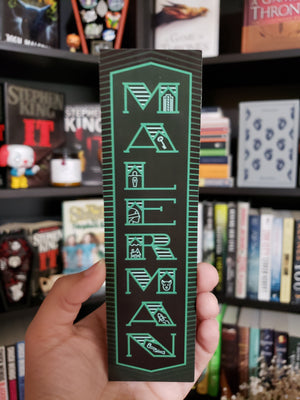 Malerman bookmark