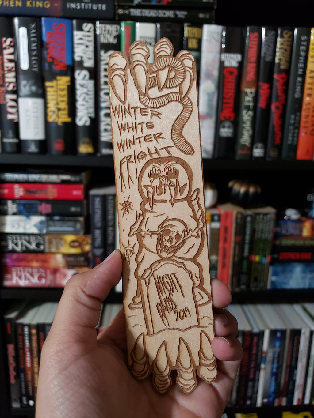 Commemorative Wooden Bookmark