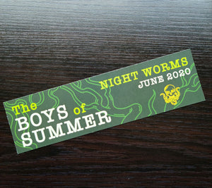 Boys of Summer bookmark