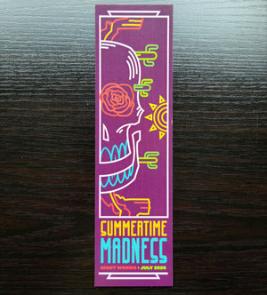 Summertime Madness bookmark