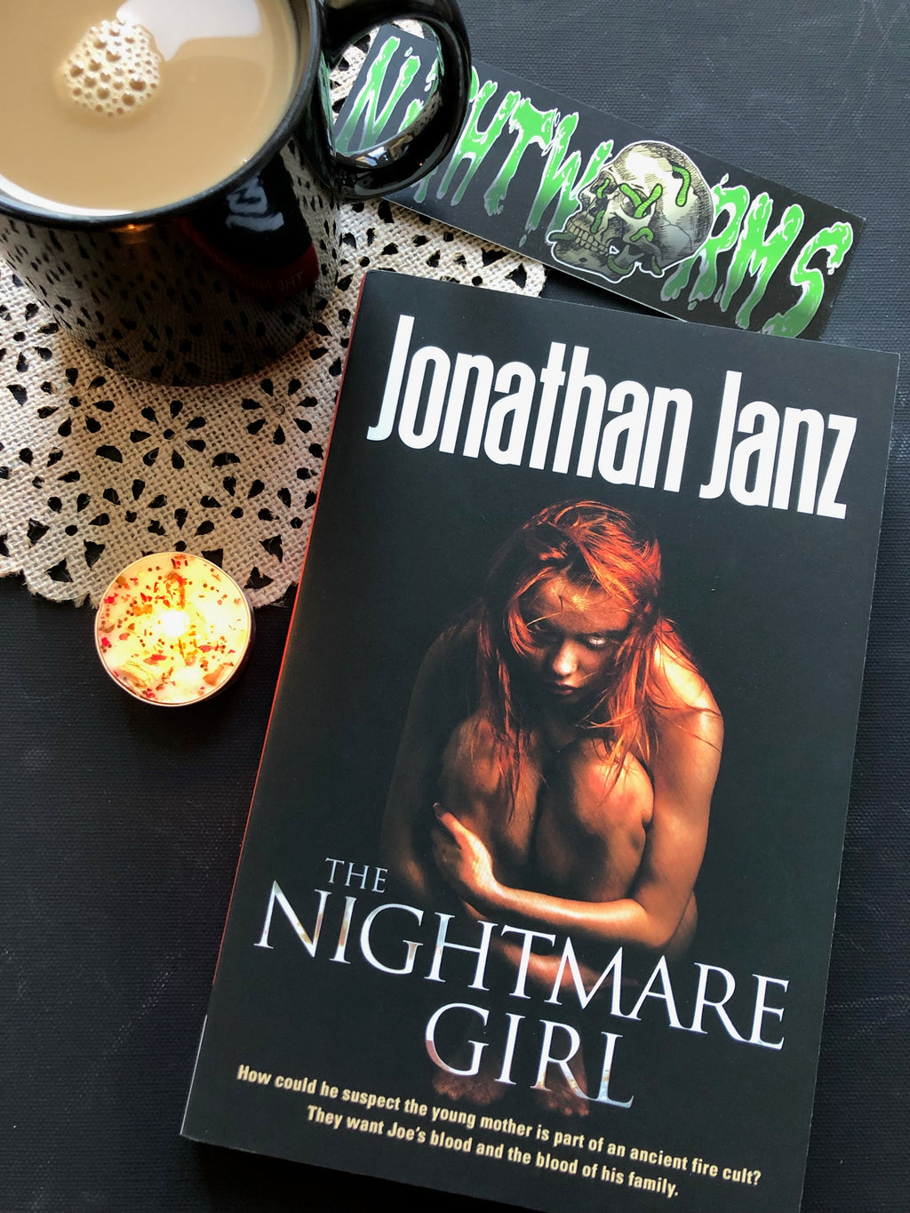 The Nightmare Girl by Jonathan Janz *SIGNED*