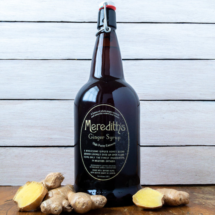 Meredith's Ginger Syrup 1.25l