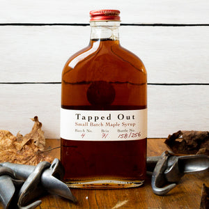 Tapped Out Maple Syrup Batch No. 4