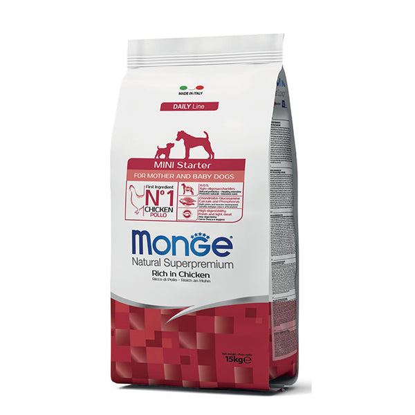 Monge Mini Starter Mother & Babydog Superpremium [15kg] - Hrana Animale