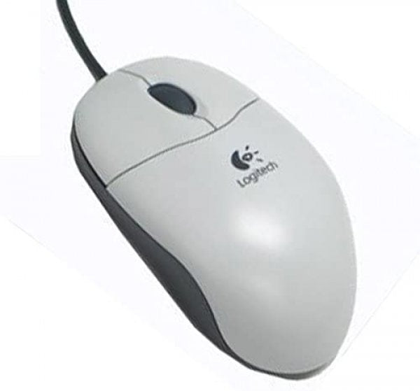 Mouse Optic Logitech M-SBF96, 3 Butoane, PS2, White