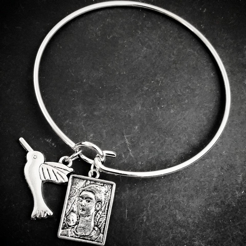 Frida Hummingbird Bangle