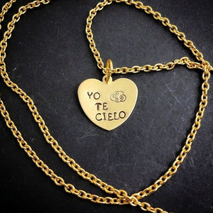 Yo Te Cielo Necklace