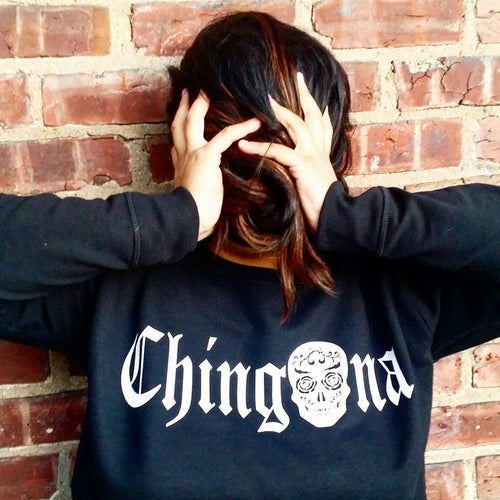 Chingona SugarSkull Sweatshirt