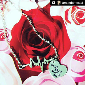 Bidi Bidi Bom Bom Heartbeat Necklace