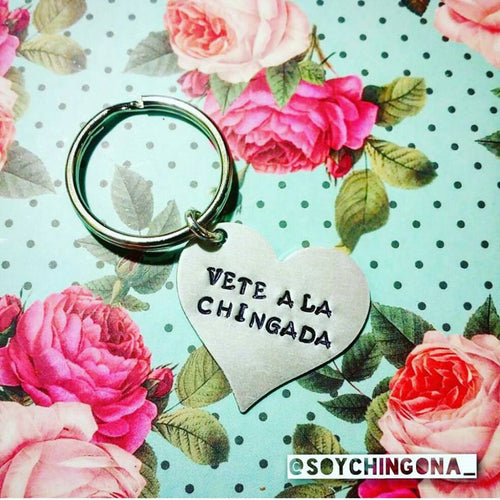 Vete a la Chingada Key Chain