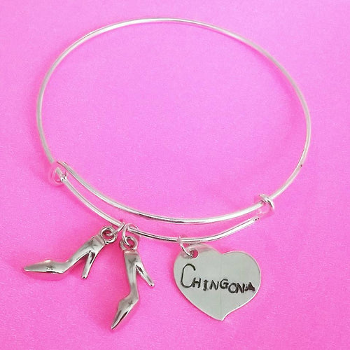 Chingona High Heels Bangle