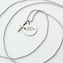 Load image into Gallery viewer, Memorial Cross Necklace
