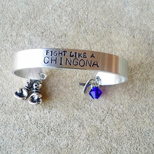 Fight Like a Chingona Cuff