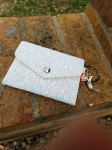 Holographic Glitter Chingona Card Wallet