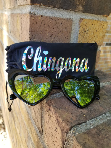 CatEye Corazon Sunglasses with Chingona Pouch