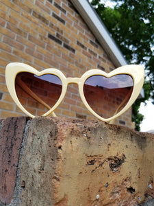 Yellow CatEye Sunglasses