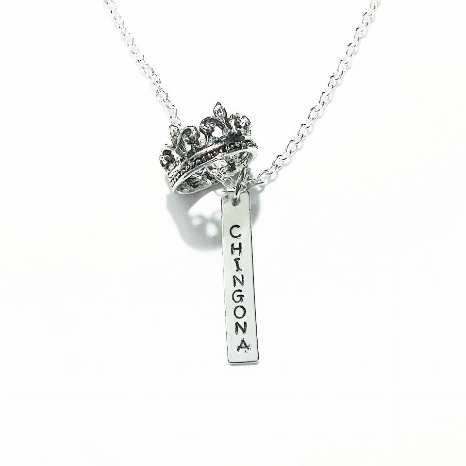 Chingona Crown Necklace