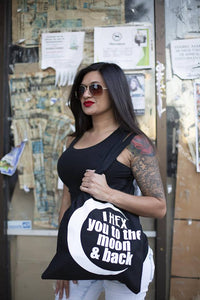 I hex you to the Moon & Back Tote