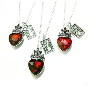 Frida Queen of Hearts Necklace