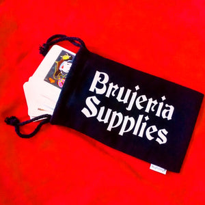 Brujeria Supplies Drawstring Bag