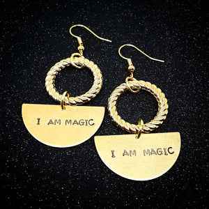 I am Magic Earrings