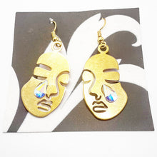 Load image into Gallery viewer, Lagrima en mi Rostro Earrings