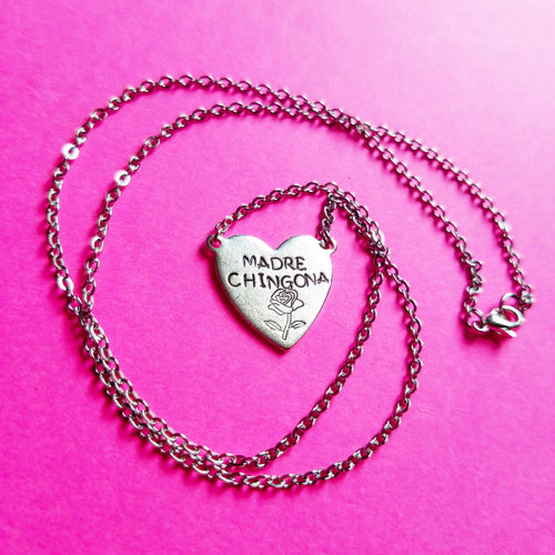 Madre Chingona Limited Heart Necklace