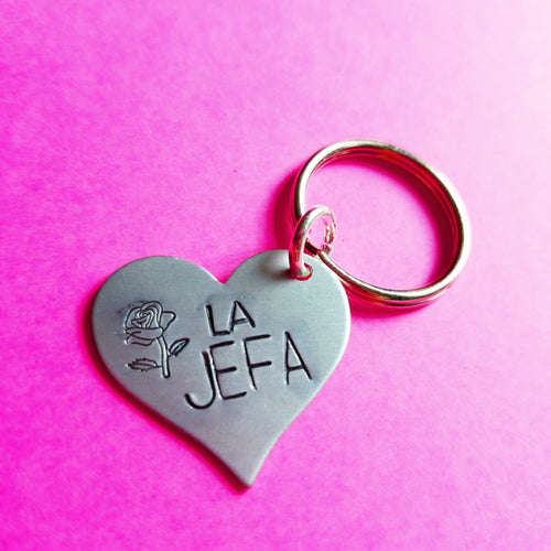 La Jefa Key Chain