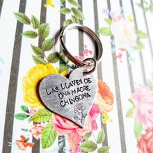 Load image into Gallery viewer, Las Llaves de una Madre Chingona Key Chain