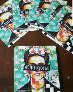 One of a kind Chingona Artist Earrings