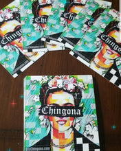 Load image into Gallery viewer, One of a Kind Chingona Artist Earrings