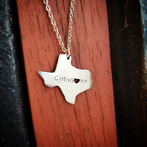 Texas State Chingona Necklace