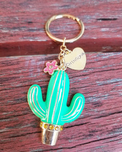 Chingona Nopal key chain