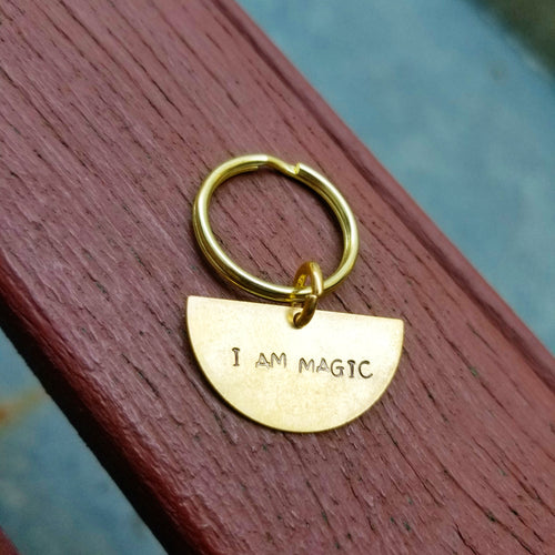 I am Magic key chain