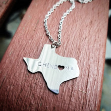 Load image into Gallery viewer, Texas State Chingona Necklace