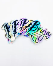 Load image into Gallery viewer, Bruja holographic sticker